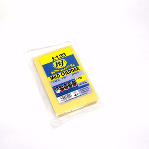 Picture of Bj Mild Cheddar 255G