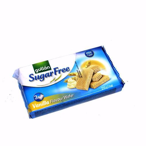 Picture of Gullon Sugar Free Vanilla Flavour Wafre 210G