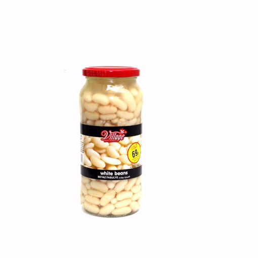 Picture of Village White Beans Jar 540G