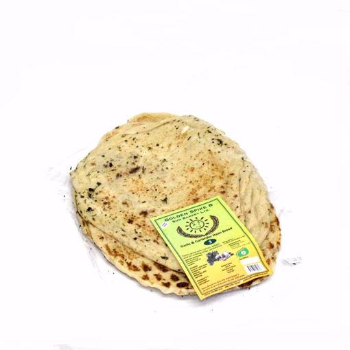Picture of Golden Spike 3 Garlic & Coriander Naan Bread