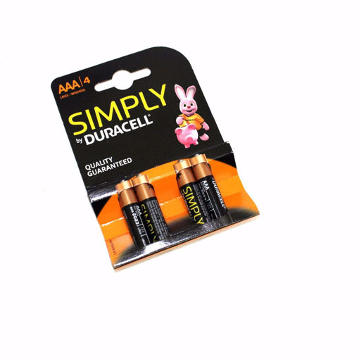 Picture of Duracell Aaa/4 Simply