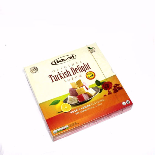 Picture of Ikbal Rose & Lemon Flavoures Turkish Delight 350G