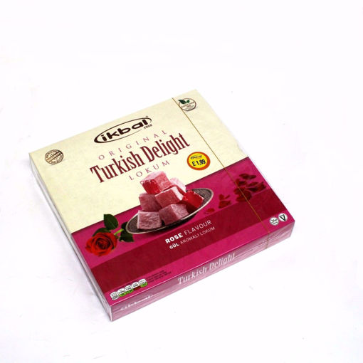 Picture of Ikbal Rose Flavour Turkish Delight 350G
