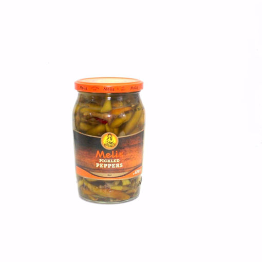 Picture of Melis Pickled Hot  Peppers 620G