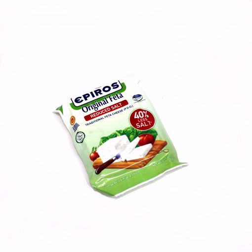 Picture of Epiros Original Feta Cheese Reduced 40% Salt 200G