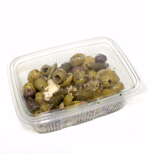 Picture of Mix Olives With Cornichons 500Gr