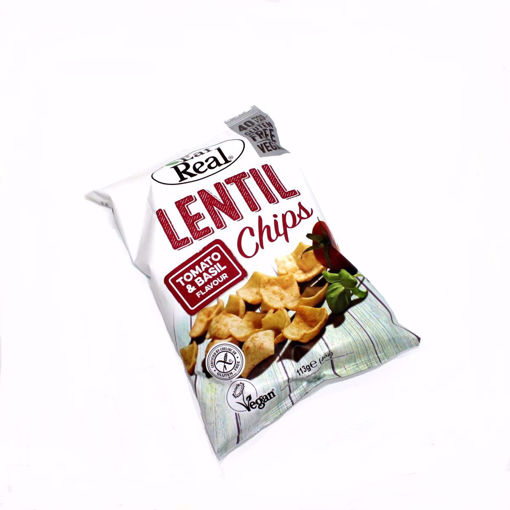 Picture of Eat Real Lentil Tomato & Basil Chips 133G