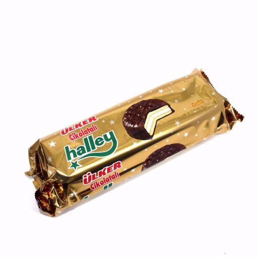 Picture of Ulker Halley Sandwich Biscuits With Chocolate Flavoured 240G