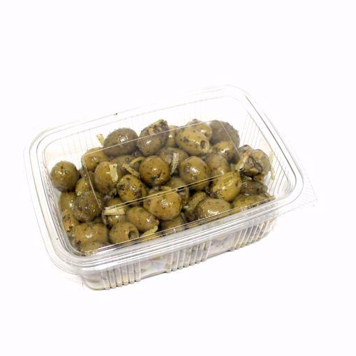 Picture of Basil & Lemon Olives 500Gr