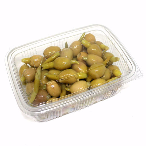 Picture of Stuffed Hot Pepper Olives 500Gr