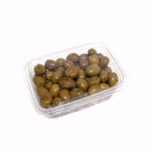 Picture of Cracked Green Olives 500Gr