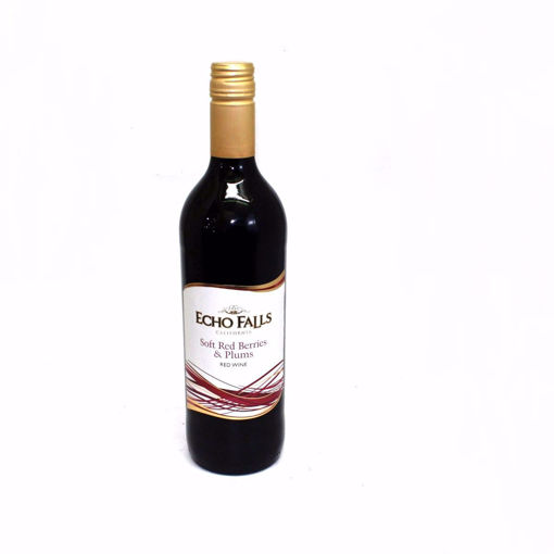 Picture of Echo Falls Soft Red Berries & Plums Red Wine 75Cl