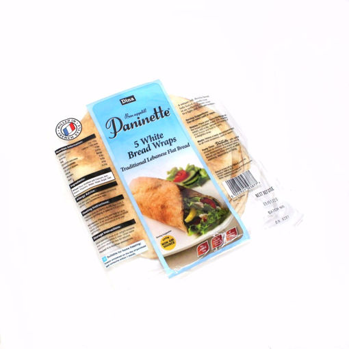 Picture of Dina 5 White Bread Wraps / Paninette