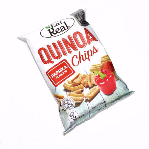 Picture of Eat Real Quinoa Paprika Crisps 80G