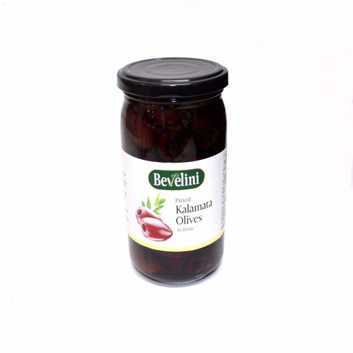 Picture of Bevelini Pitted Kalamata Olives 355G