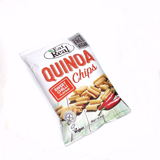 Picture of Eat Real Wuinoa Sweet Chilli Flavour Chips 80G