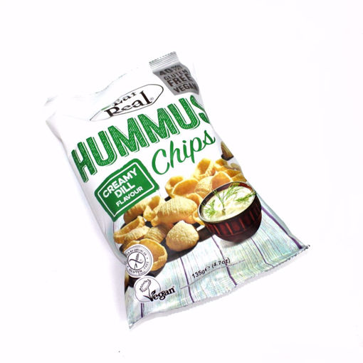 Picture of Eat Real Hummus Creamy Dill Chips 135G