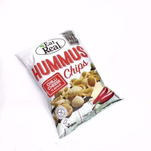 Picture of Eat Real Hummus Chilli & Cheese Chips 135G