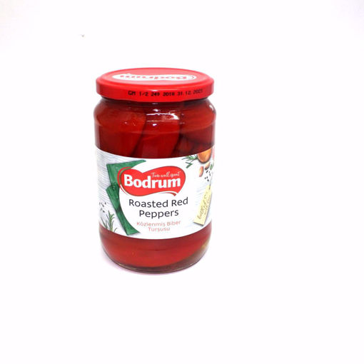 Picture of Bodrum Roasted Red Peppers 450G