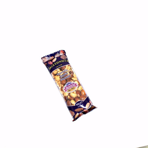 Picture of Jannis Mixednuts Bar 40G