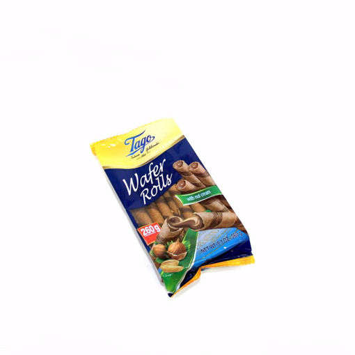 Picture of Tago Wafer Rolls With Nut Cream 260G