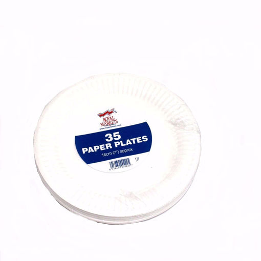 Picture of Royal Markets Paper Plates 35'S