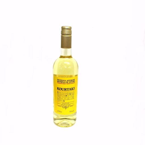Picture of Retsina Kourtaki White Wine 75Cl