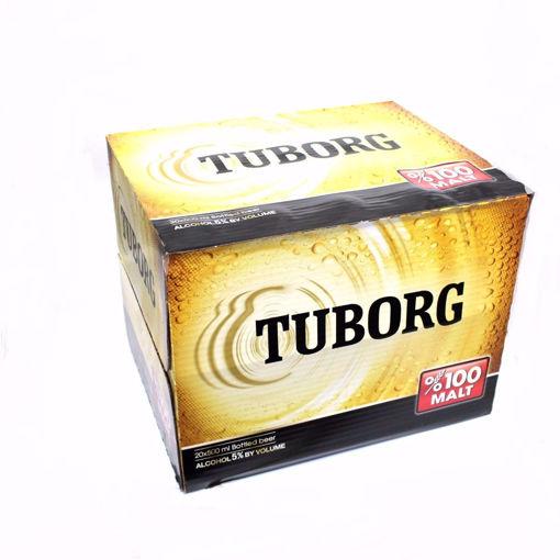Picture of Tuborg Bottled Beer 20X500ml