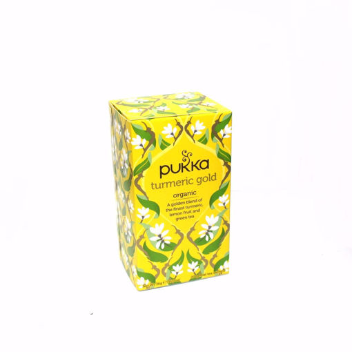 Picture of Pukka Organic Turmeric Gold 20 Herbal Tea 36G