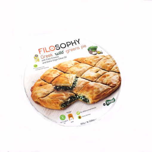 Picture of Ioniki Greek Wild Greens Pie With Feta Cheese 850G