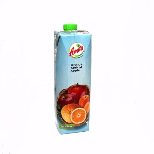 Picture of Amita Orange&Apple&Aprcot Juice 1L