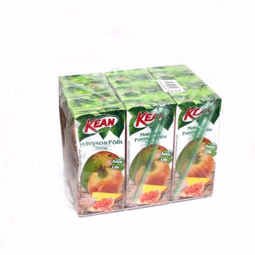 Picture of Kean Mango & Pomegranate Juice 9X250ml