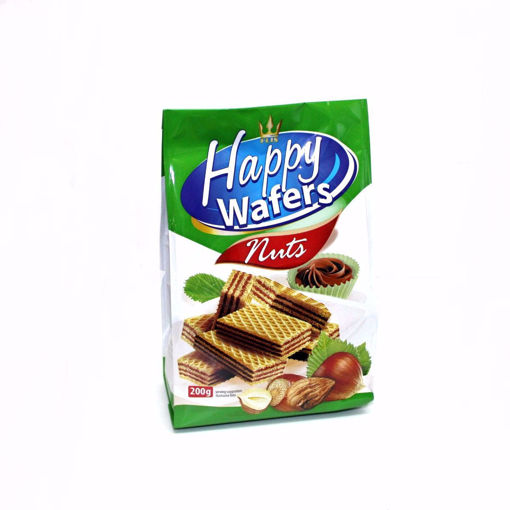 Picture of Happy Wafers With Nuts 200G