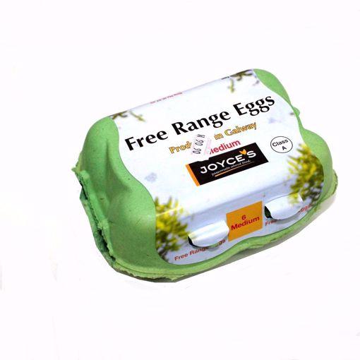 Picture of 6 Medium Free Range Eggs