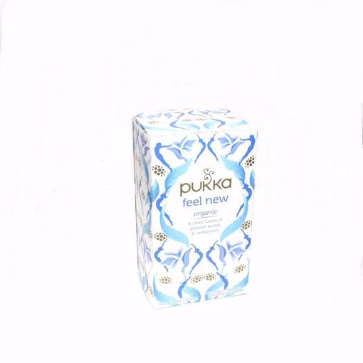 Picture of Pukka Organic 20 Feel New Tea
