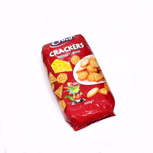 Picture of Croco Cheese Crackers 400G