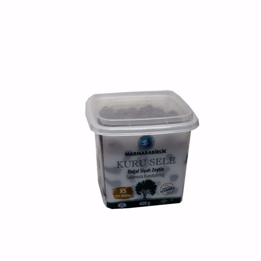 Picture of Marmarabirlik Sele Xs Black Olives 400G