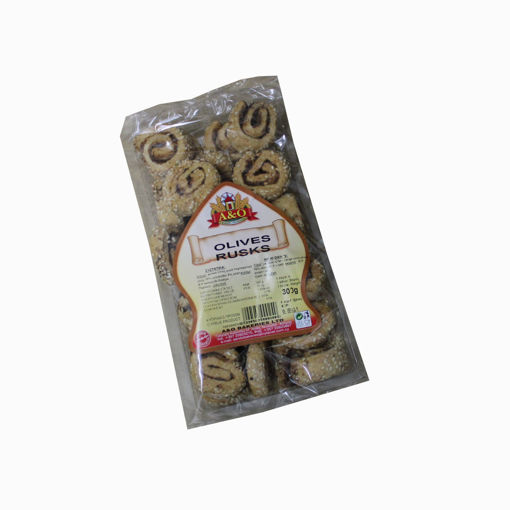 Picture of A & O Olives Rusks 300G