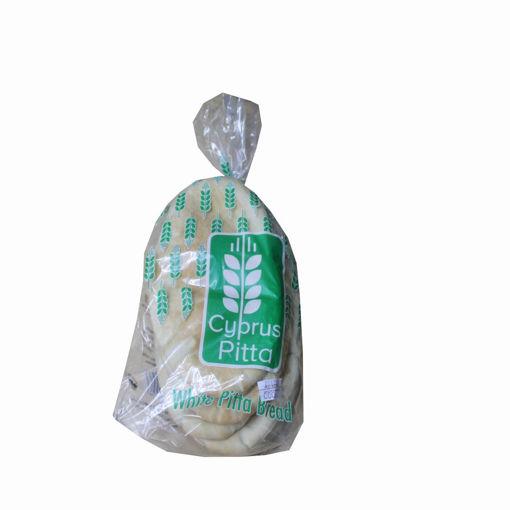 Picture of Cyprus 6 White Pitta Bread