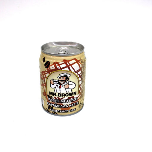 Picture of Mr.Brown Caramel Latte 240Ml