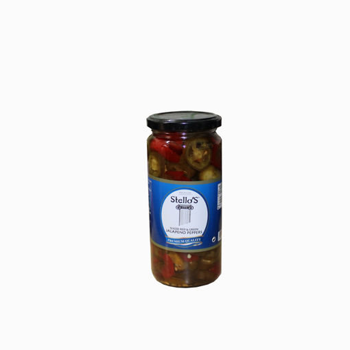 Picture of Stello's Sliced Red & Green Peppers 500Ml
