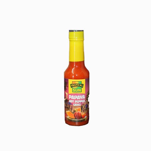 Picture of Tropical Sun Hot Papaya Pepper Sauce 150Ml