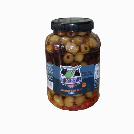 Picture of Ideal Marinated Mixed Olives With Garlic 1500G