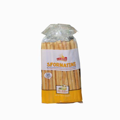 Picture of La Mole Olive Oil Breadsticks 200G