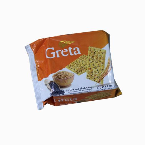 Picture of Solen Greta Sesame & Black Cumin 4X30g