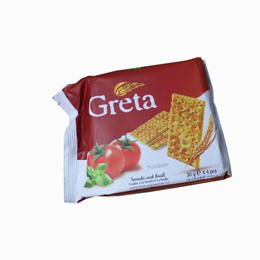 Picture of Solen Greta Tomato & Basil 4X30g