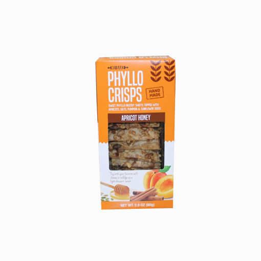 Picture of Phyllo Apricot Honey Crisps 80G
