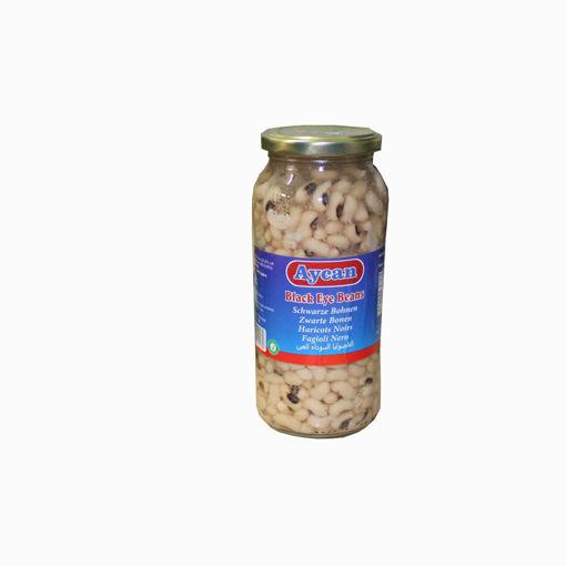 Picture of Aycan Black Eye Beans Jar 540G