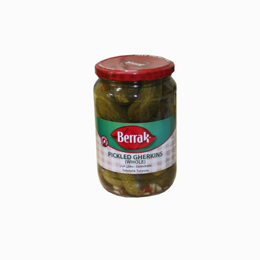 Picture of Berrak Pickled Gherkins 680Gr